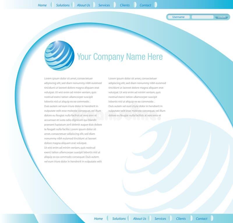 Website Design Template Stock Photos