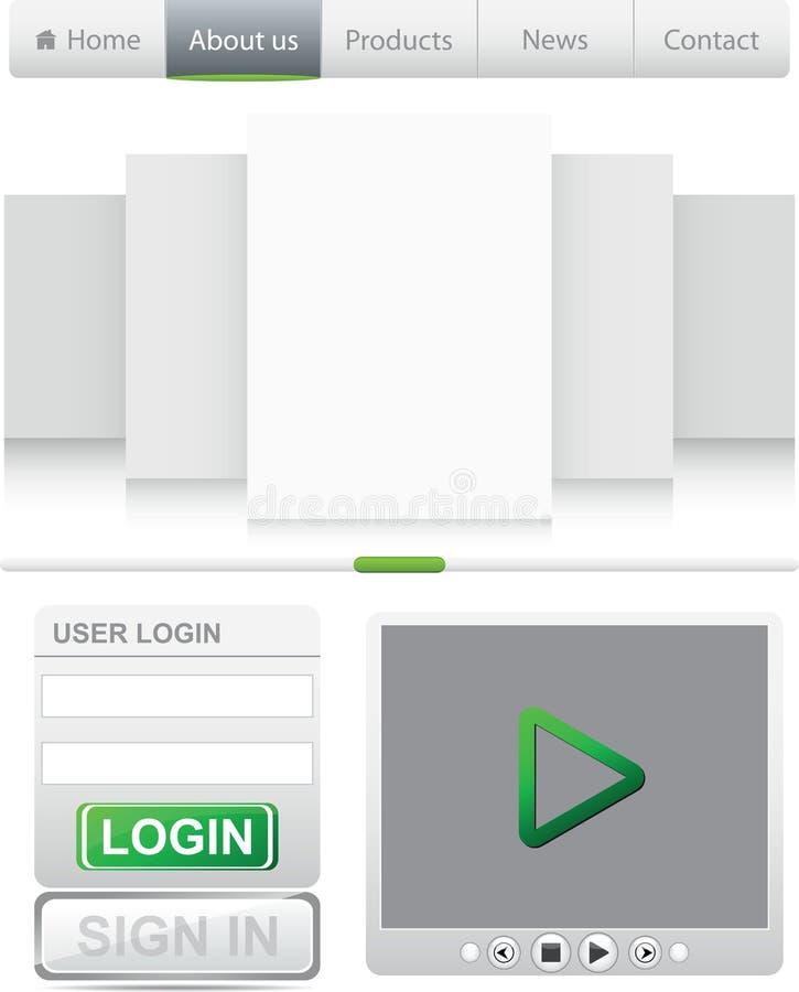 Download Website Elements Stock Photos - Image: 23820223