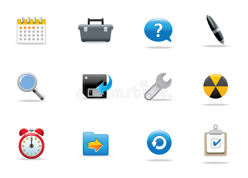 Website Icons Stock Photography