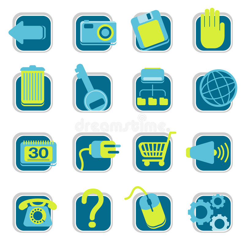 Download Website Icons stock vector. Image of photograph, page - 2711021