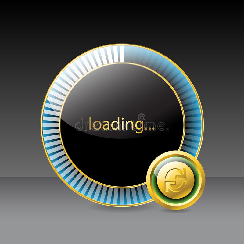 Download Website Loading Screen Stock Image - Image: 25623441