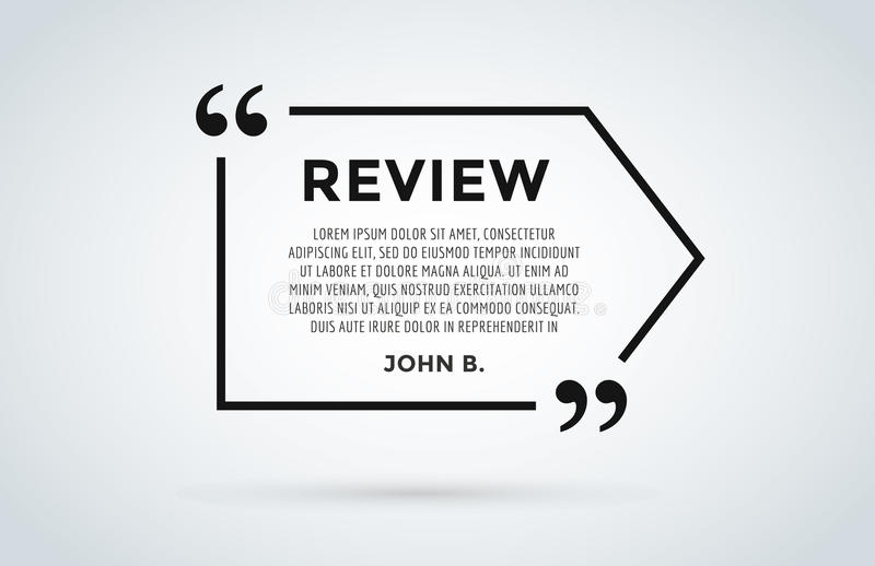 paper review template