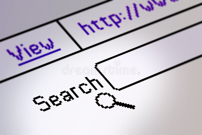 Website search royalty free stock images