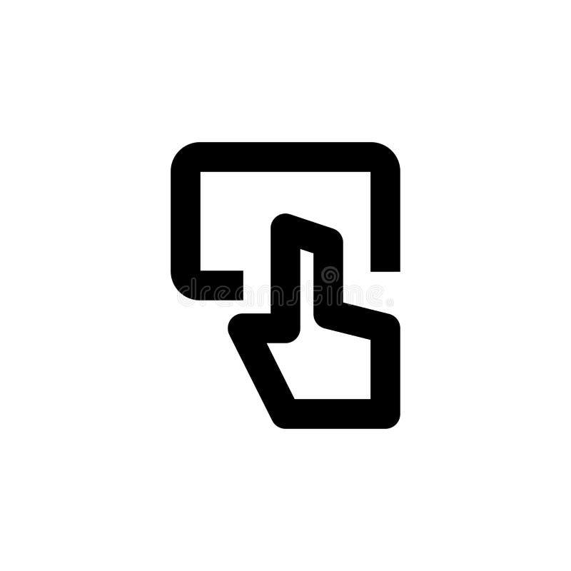 Website slide icon. Web page slider sign stock photo