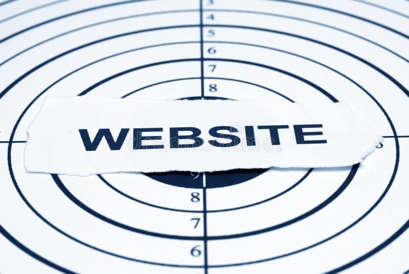 Website target stock photos