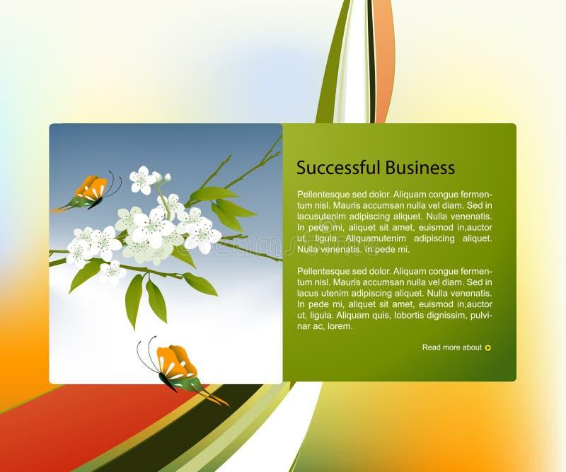 Download Website template stock vector. Illustration of blank - 12097700