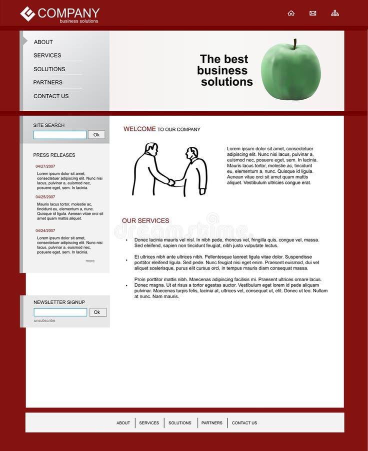 Download Website template stock photo. Image of navigation, website - 13893748