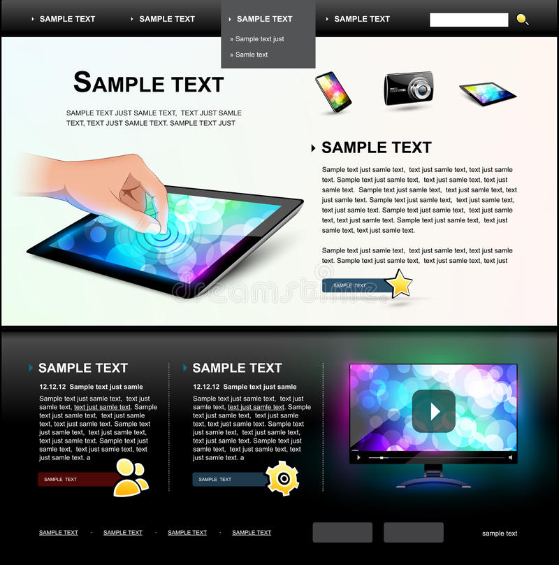 Website Template 5.