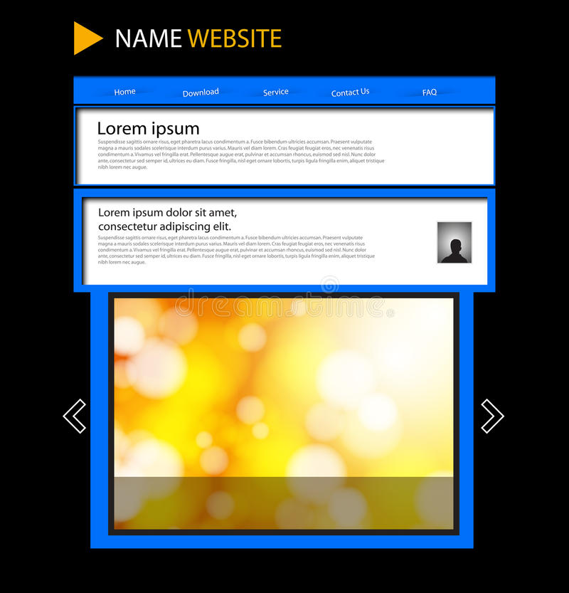 Download Website Template Stock Images - Image: 31425224