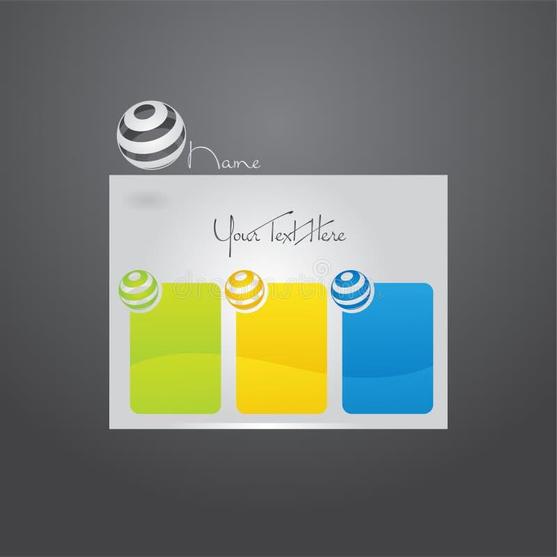 Website template design. stock images