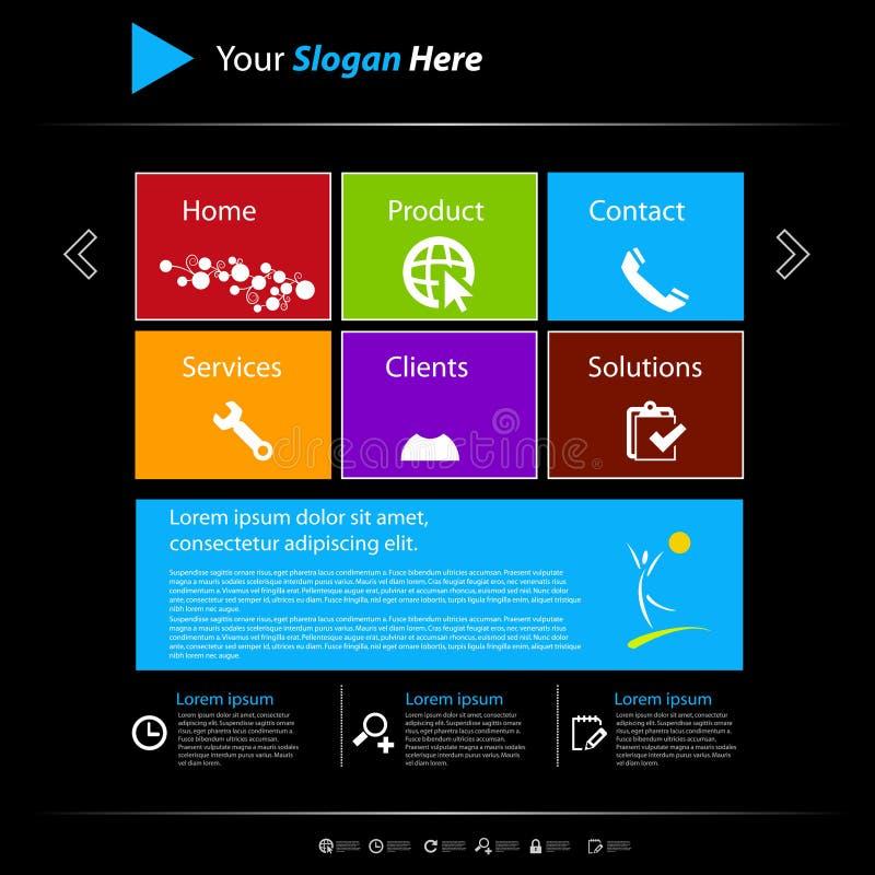 Free Website Template, Easy Editable Royalty Free Stock Photos - 30611268