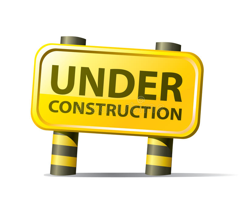 Website under construction vector illustration
