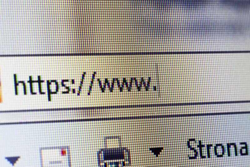 Websiten tilltalar arkivfoton