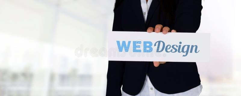 Websiteontwerper stock afbeeldingen