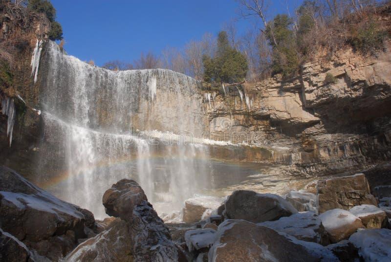 Webster Waterfall lizenzfreies stockbild