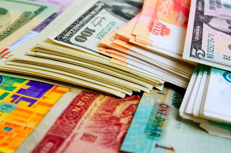 Wechselkurse und Vermutung lizenzfreies stockbild