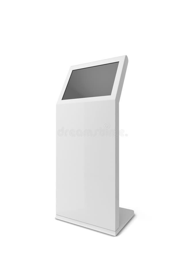 Wechselwirkender Kiosk Digital stock abbildung