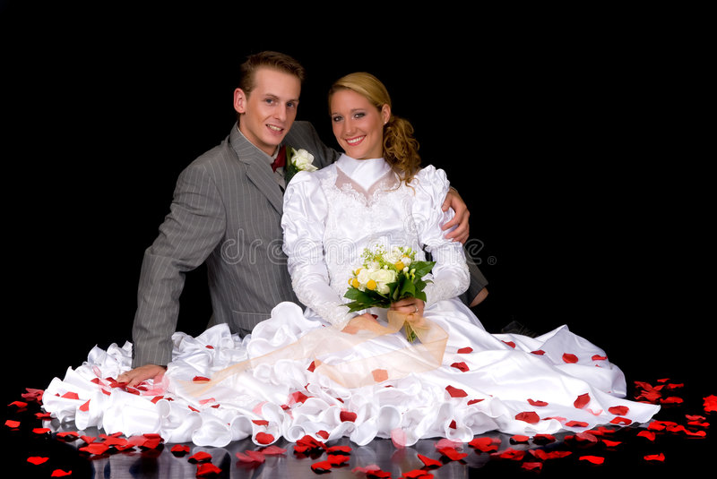 Wed neuf les couples photos stock