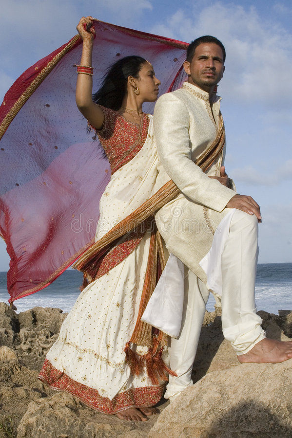 Download Wedded Bliss by the Sea stock image. Image of clouds, krishna - 6834063