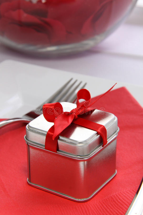 Weddig Favor - Gift Box royalty free stock photo