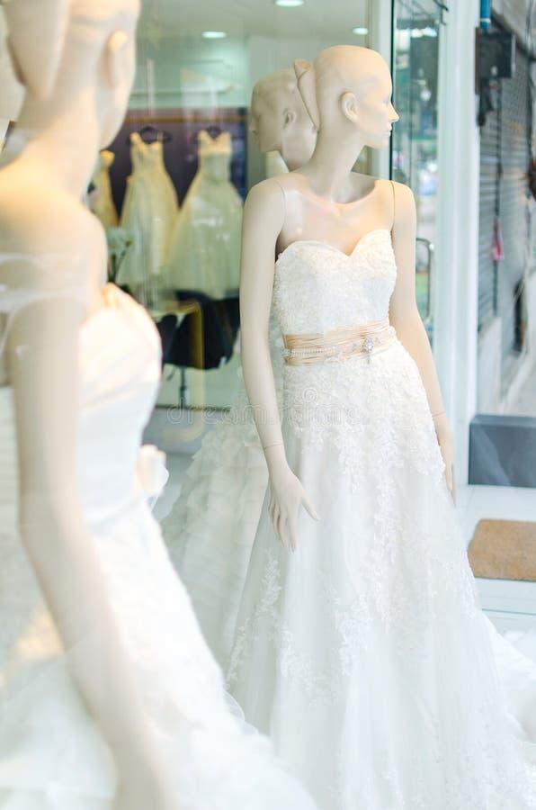 Weddind suknia obrazy royalty free