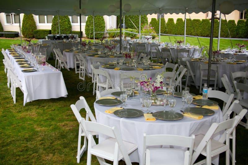 Wedding банкет стоковые фотографии rf
