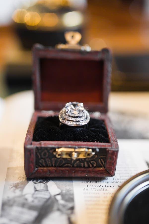 Wedding ретро кольцо стоковые изображения rf