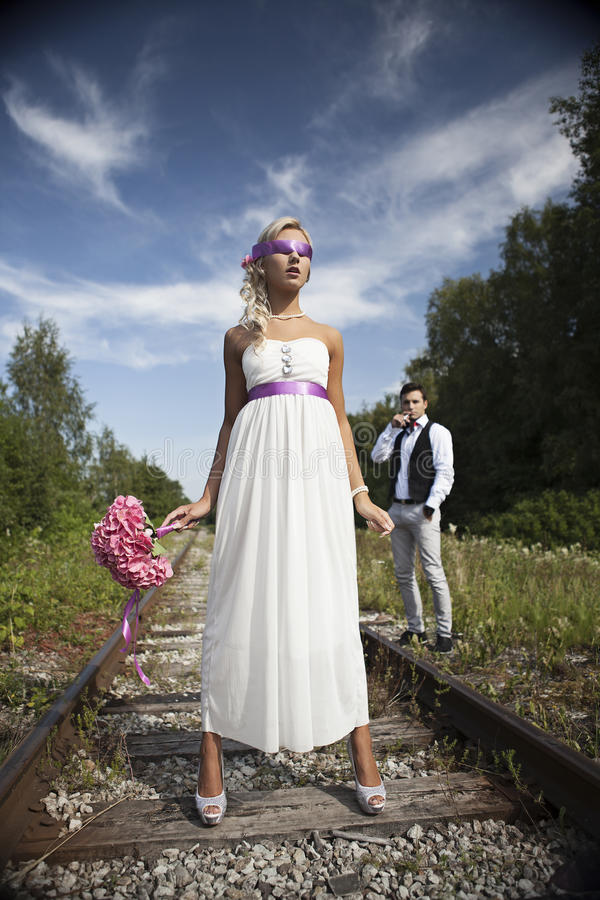 Wedding, счастливый молодой человек и праздновать женщины стоковые изображения