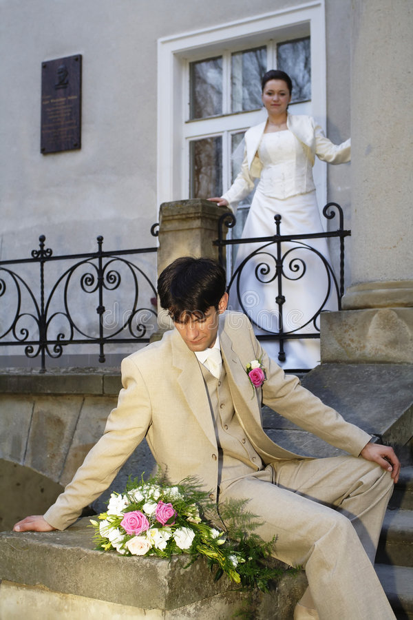 Wedding 03 immagine stock libera da diritti
