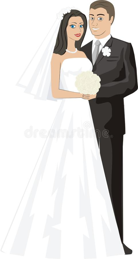 Download Wedding stock vector. Image of wedding, woman, family - 13865582
