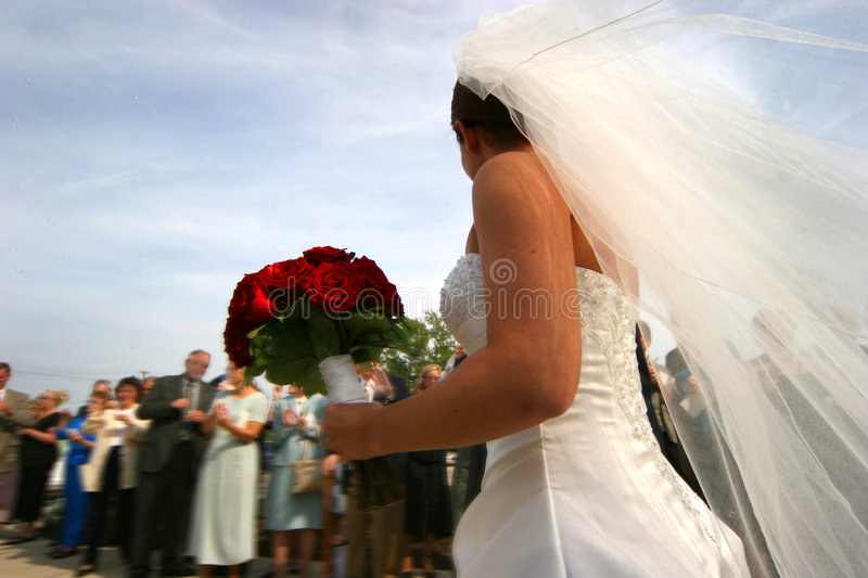 After the wedding royalty free stock photography