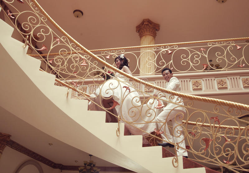Download Wedding stock image. Image of high, happy, stair, person - 16830323