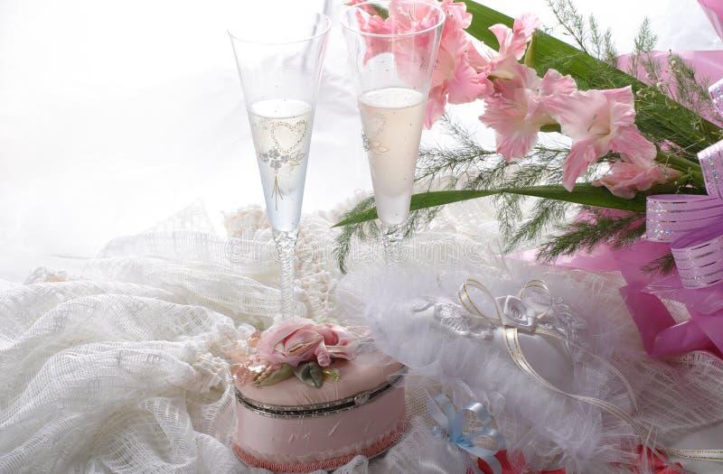 Wedding. Still life - beautiful composition royalty free stock photos