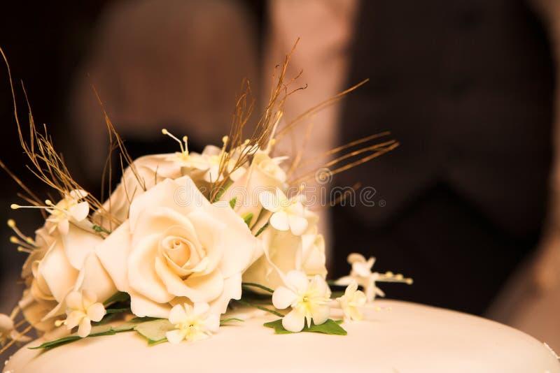 Wedding #45. Close-up of a wedding cake. Shallow D.O.F stock images