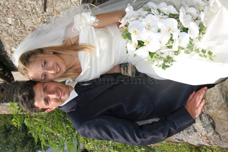 Download Wedding stock image. Image of pose, romance, elegance - 4986947