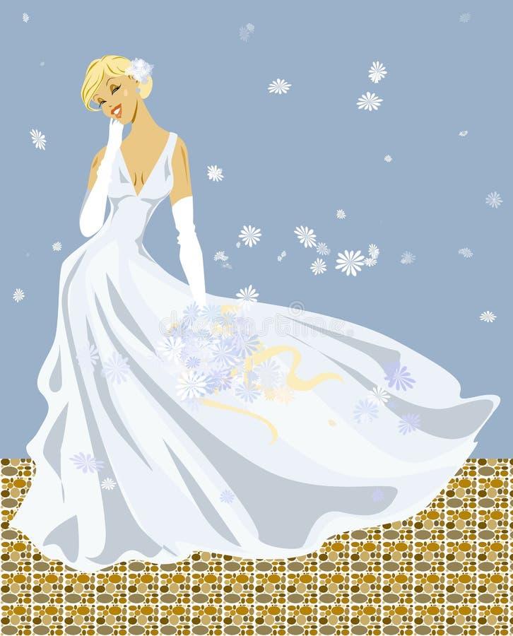 Download Wedding stock illustration. Image of wedding, young, flutter - 876799