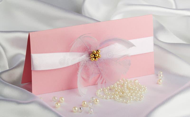 Wedding accessories stock image
