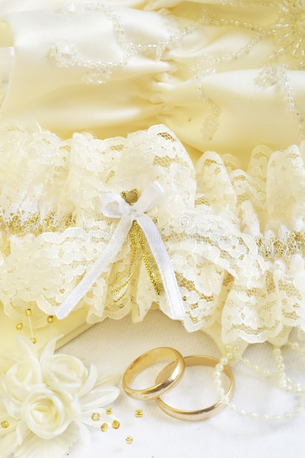 WEDDING ACCESSORIES royalty free stock photos