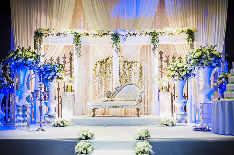 Wedding Altar stock image. Image of marry, hall, prop ...