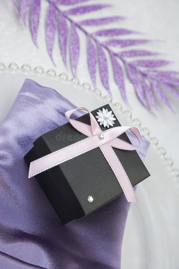 Wedding/Anniversary Gift Box Stock Photo