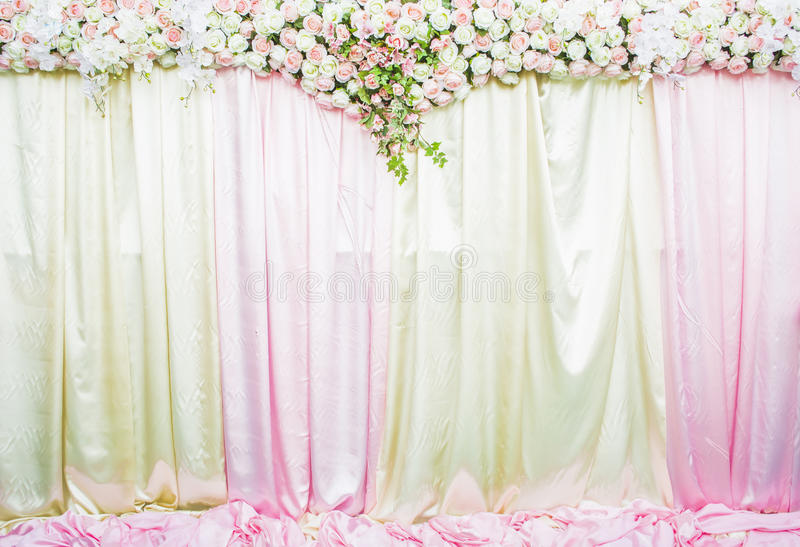 Wedding backdrop royalty free stock images