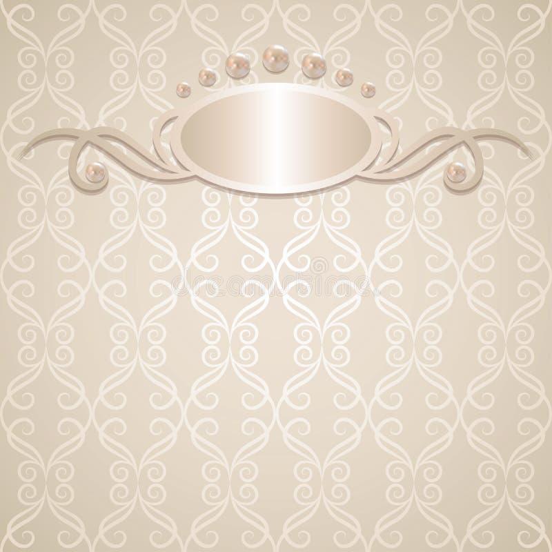 Download Wedding background stock vector. Illustration of metal - 25432336