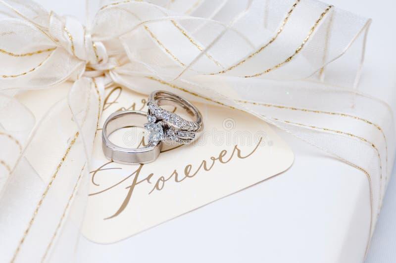 Wedding bands stock image