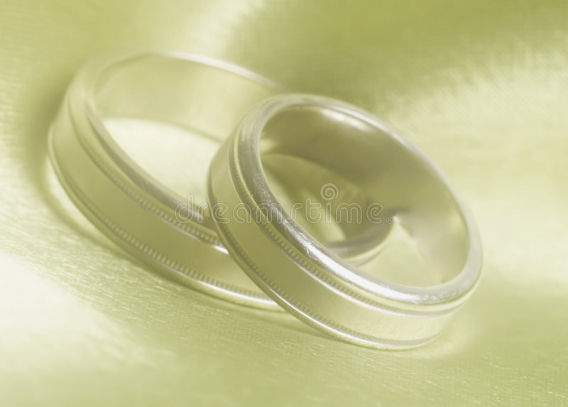 Download Wedding bands up close stock image. Image of ceremony, gold - 104133