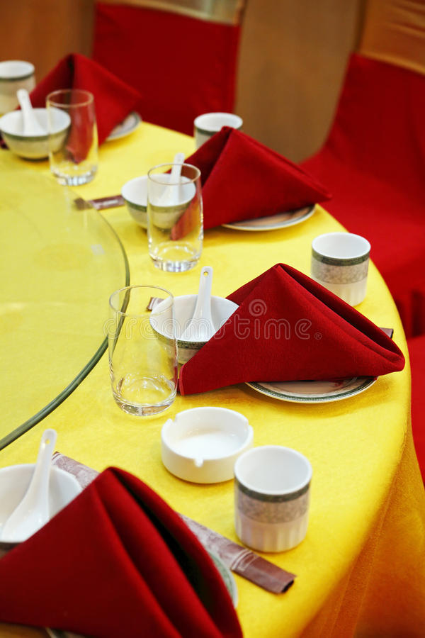 Download Wedding Banquet Table Setting. Stock Photo - Image: 10998198