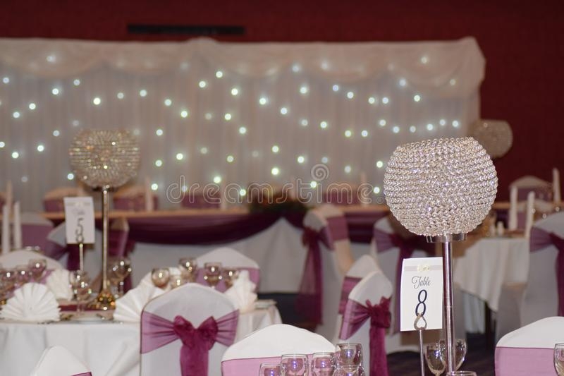 Wedding Banquet royalty free stock image