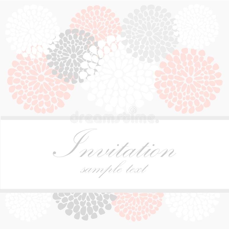 Download Wedding Birthday Card Or Invitation With Abstract Stock Photo - Image: 33948728