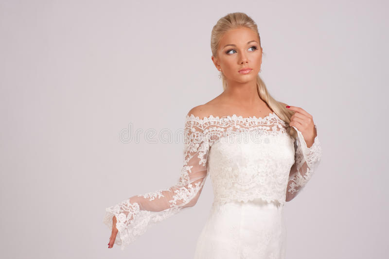 Wedding blouse royalty free stock images