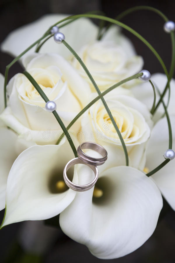 Wedding bouqet stock images