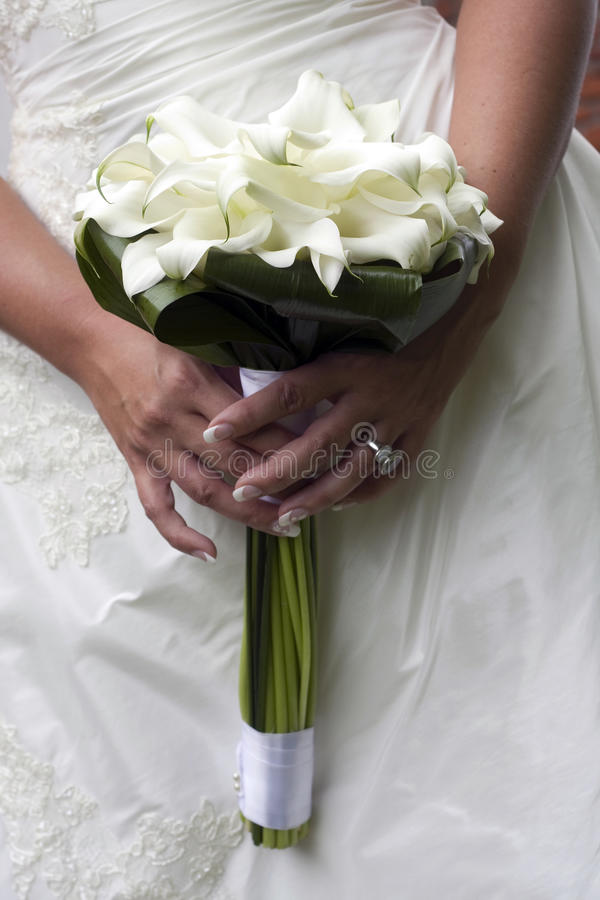 Download Wedding bouquet stock image. Image of flower, hold, holding - 10562791
